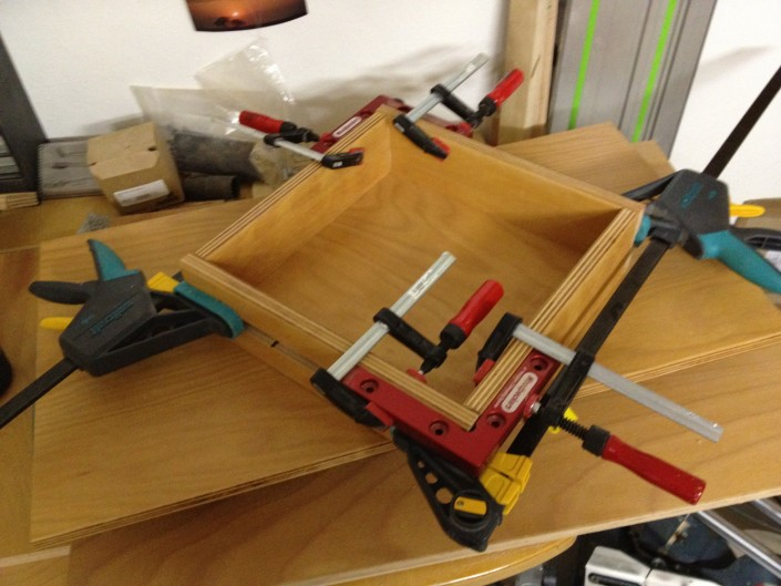 Zusammenbau der Schublade 2