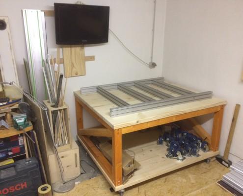 fertiger CNC-Tisch