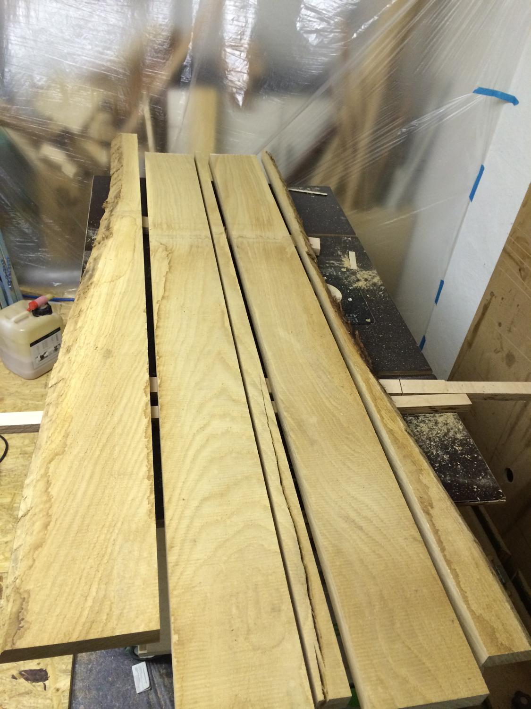 Holz-Garderobe in Eiche Natur