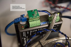 Anschluss Leadshine DM556 Endstufe mittels Patchkabel und Adapter