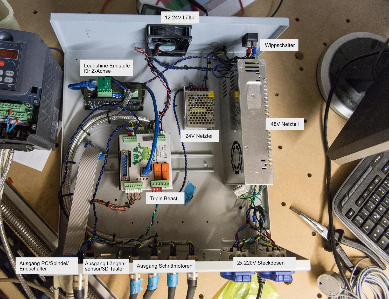CNC Build Log (7): Realisierung der CNC-Steuerung (Teil 2)