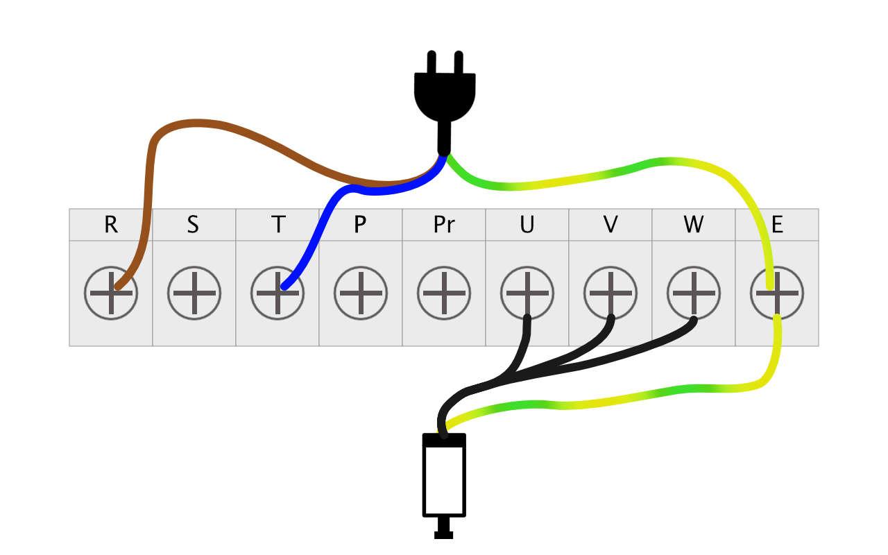 Strom-FU-Spindel