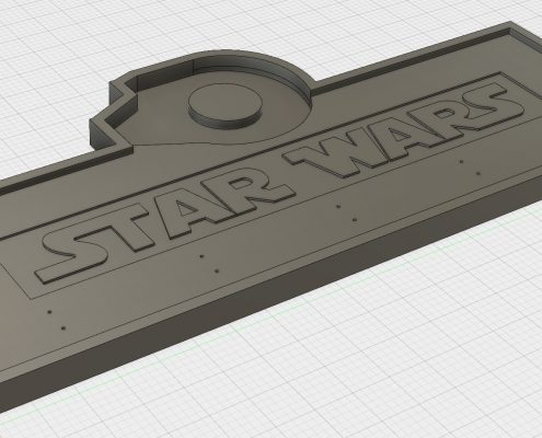 Star Wars Garderobe in Autodesk Fusion360