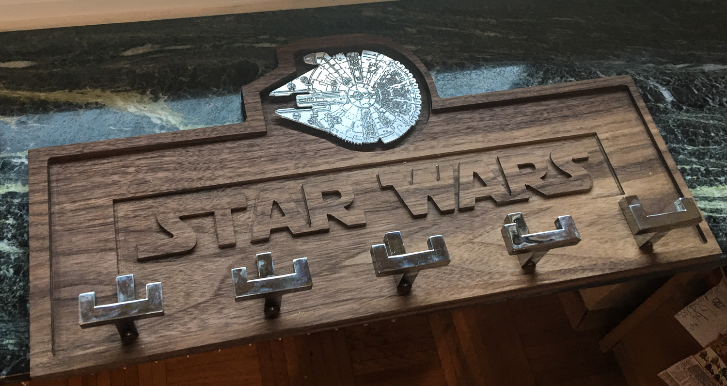 CNC – Star Wars Kindergarderobe